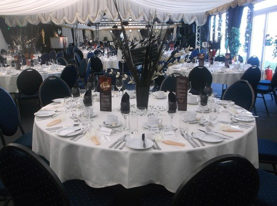Jocasta's : the room set out for our event