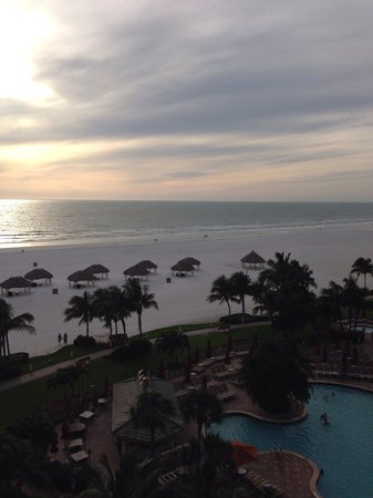 JW Marriott Marco Island Beach Resort: The view from our room.