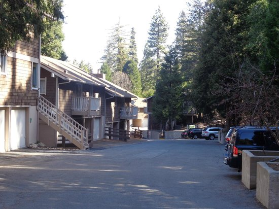 Lake Arrowhead Chalets: Outside grounds
