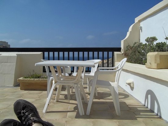 Saint Patrick's Hotel: Terrace View