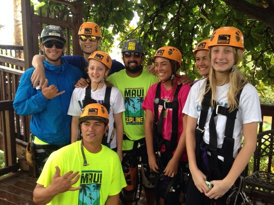 Maui Zipline Company : Koa, Troy, and Keoki were the best!!