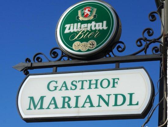 Mariandl Gasthof Pension: Zillertal Bier
