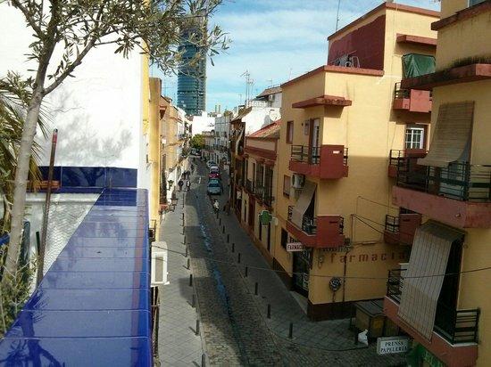 B&B Casa Alfareria 59 : Street view from 3rd flor pateo