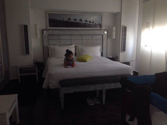 Le Trianon Luxury Hotel & Spa : At le Trianon luxury hotel Casablanca my baby