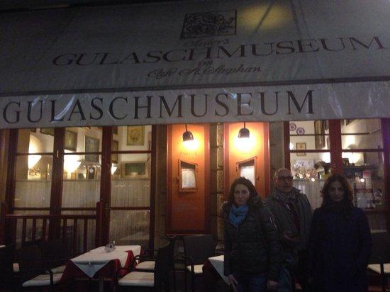 Gulaschmuseum: Il locale