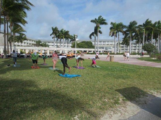 Yoga classes casino