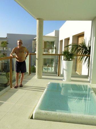 The Grand Bliss at Vidanta Riviera Maya: The Grand Bliss balcony