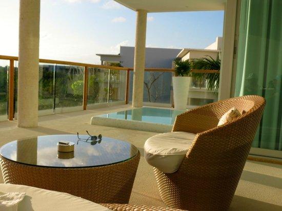 The Grand Bliss Riviera Maya: The Grand Bliss balcony