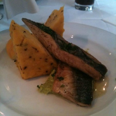 Bar 163: Mackerel with polenta