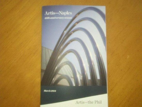 Artis-Naples March Program Guide
