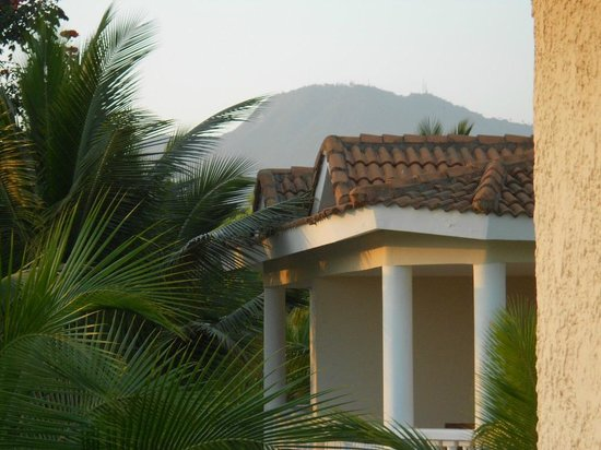 Cofresi Palm Beach & Spa Resort: view of the mountain from balcony