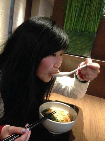 Dormy inn Premium Shibuya Jingumae : Great nightly Ramen was a real treat !