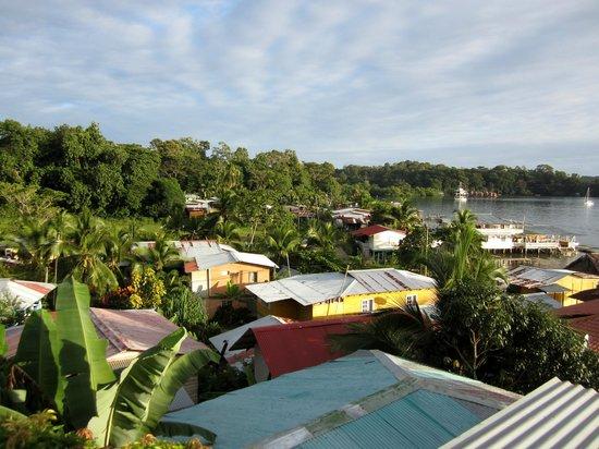 Hostal Bastimentos : La vue de notre terrasse