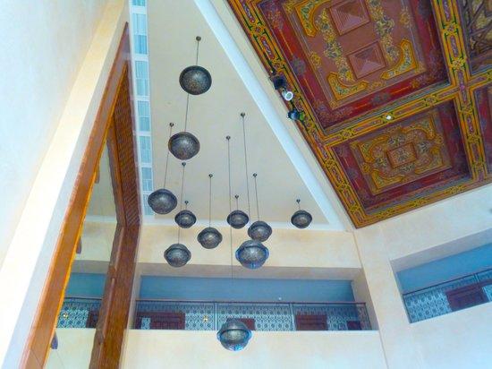 IBEROSTAR Royal El Mansour & Thalasso : ロビーの天井