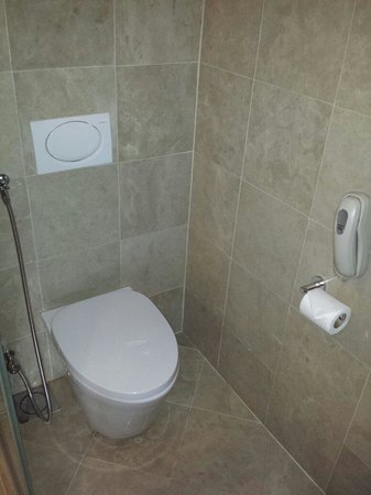 The Gardens Hotel & Residences : A bidet is a must for a toilet