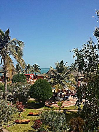 Kombo Beach Hotel: Room with a view