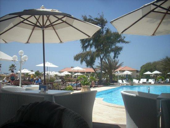 Hotel Morabeza : one of the pool /bar areas