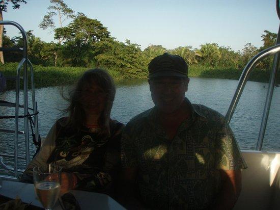 Copal Tree Lodge, a Muy'Ono Resort: Sunset cruise
