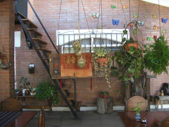Dai Nonni Hotel : Espace déjeuner