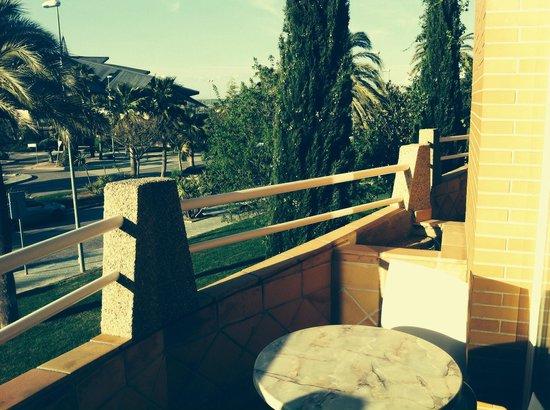 Hotel HO Ciudad de Jaen: Preciosa vista verde