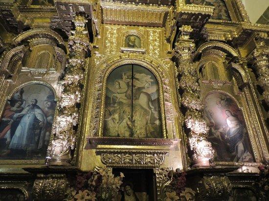Catedral del Cuzco o Catedral Basílica de la Virgen de la Asunción: Retablo de Santiago Matamoros