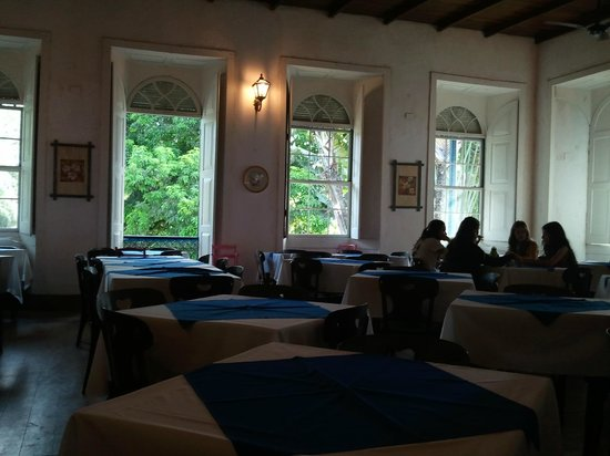 Hotel Fazenda Villa-Forte: Breakfast in the dining room