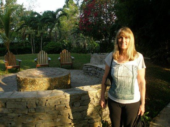 Belcampo Lodge: Nice garden area