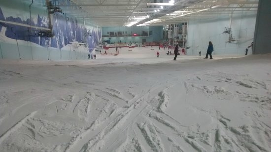 Chill Factore mountain top