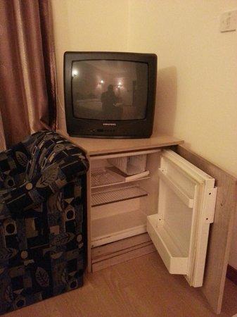 Rush Inn: TV & Fridge