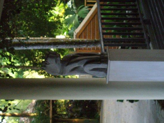 Belcampo Lodge: Statuary