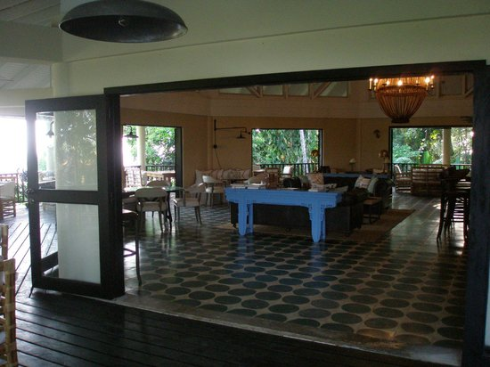 Belcampo Lodge : Part of the dining area