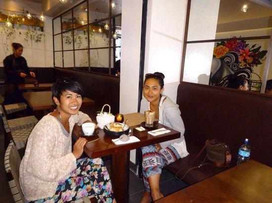 Morena Peruvian Kitchen: Thank you girls!