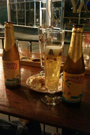 La Trappiste Restaurant: Banana beer and continental beer house vibe!