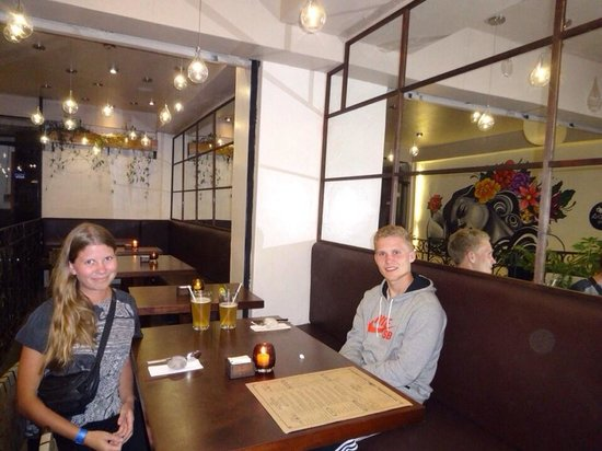 Morena Peruvian Kitchen: Friends from Denmark
