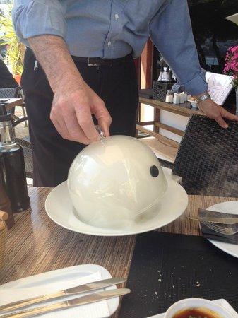 Restaurante La Fontana: Y AHUMADO!!UMMMMM