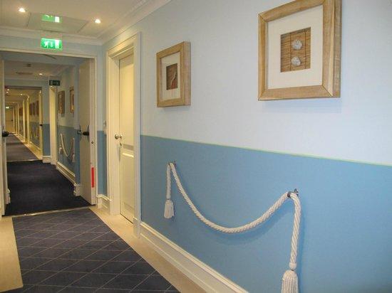 Grand Hotel Bristol Resort & Spa: hallway
