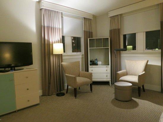Hotel Parq Central: お部屋は広い