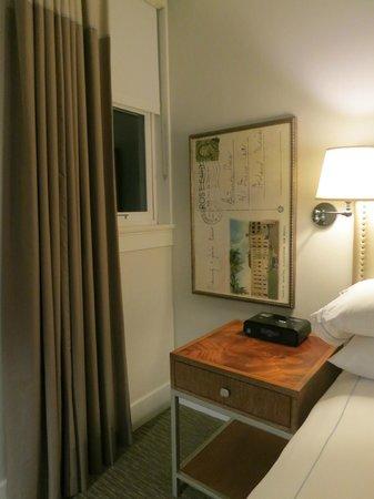 Hotel Parq Central: 絵はがきの拡大ポスターのようなものが飾られてた^^
