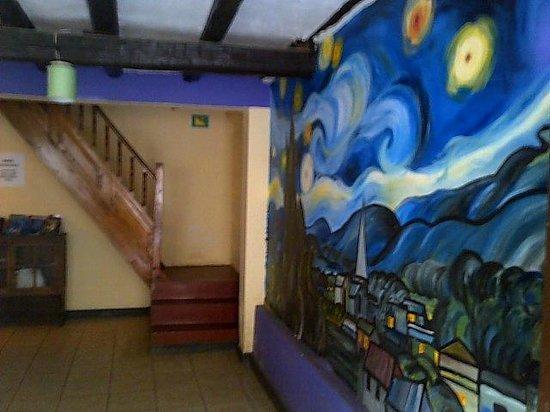 Janaxpacha Hostel: Recepción