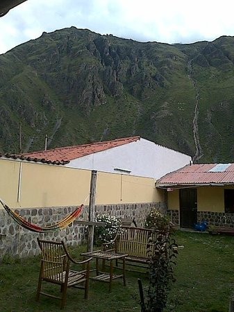 Janaxpacha Hostel: Patio