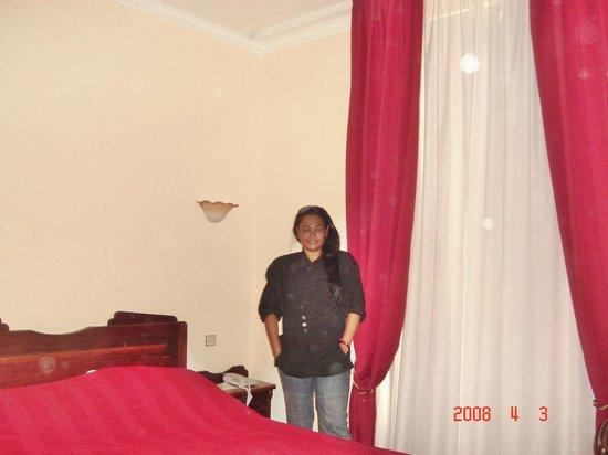 Hotel Ambassador Monaco: Quarto do hotel