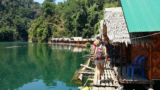 Khao Sok Las Orquideas Resort: EXCURSION LAGO