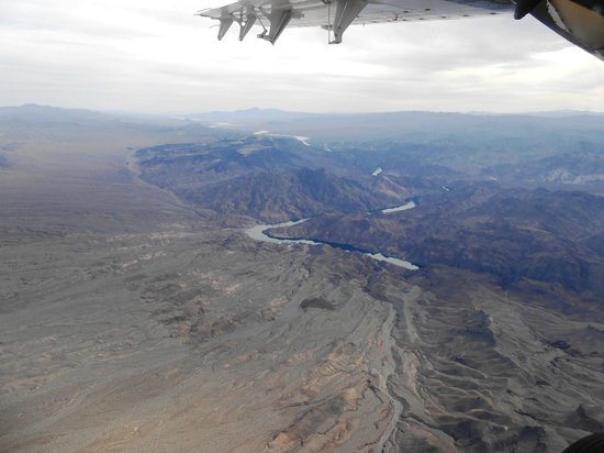Scenic Airlines: Colorado River Downstream from Hoover Dam