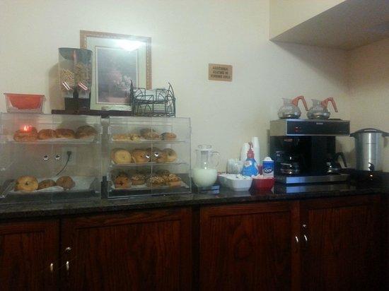 Windsor Park Hotel: angolo colazione