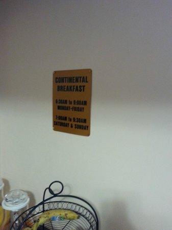 Windsor Park Hotel: gli orari della colazione