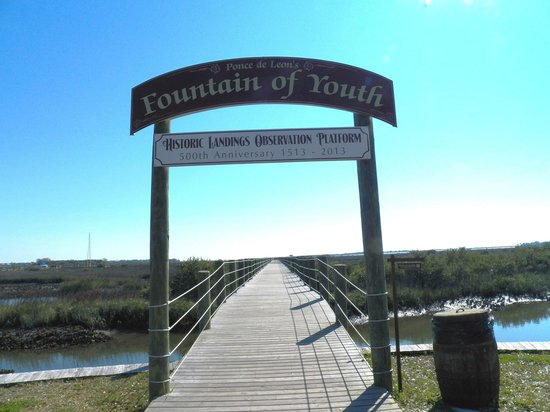 Fountain of Youth Archaeological Park: The scenic pier