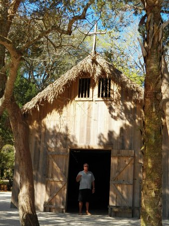 Fountain of Youth Archaeological Park: The first church in the U.S.