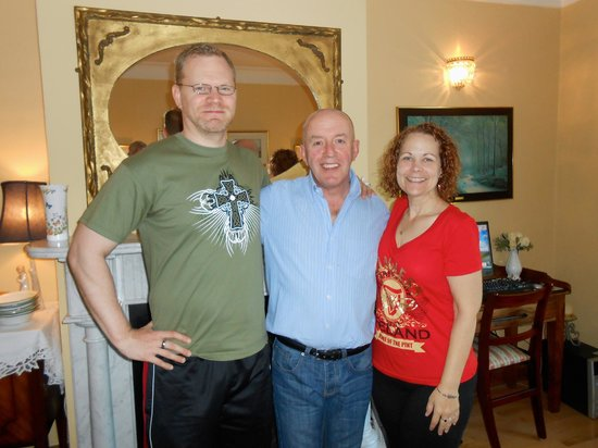 Beech Lodge B&B: Ty, me & Gerry