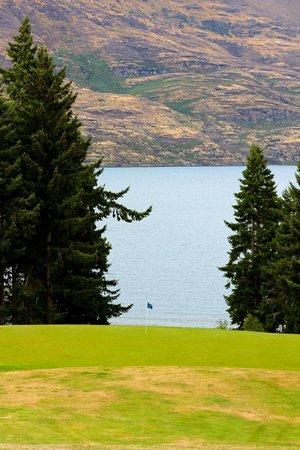 Queenstown Golf Club: view