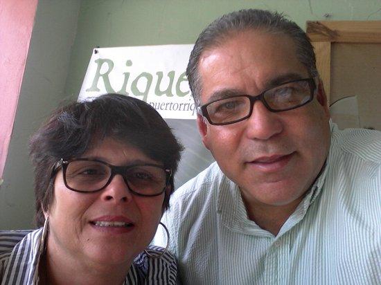 Riqueno Fonda Puertoriquena: We arriving to the restaurant